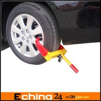 Wholesale NEW Heavy Duty Wheel Clamp Lock For BOAT TRAILER CAR TRUCK
