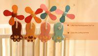 Wholesale Rechargeable Portable Fan Summer Cute Little Feet USB Fan in Office Desk Charging Small Clip Fan