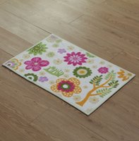 area rug manufacturers - 10pcs area rug floor carpet The new rainbow carpet manufacturers supersoft printing small fresh flower mats doormat microfiber mat