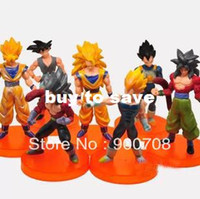 Wholesale SET Dragon Ball Z quot Songukou Gogeta Gotenks Action Figure toy