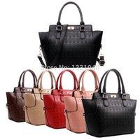 Cheap New Fashion Women Designer PU Leather Skull Print Shoulder Messenger Tote Handbag Hand Bag L1122