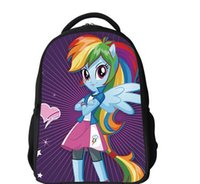 Wholesale My Little Pony Backpacks Cartoon Little Pony school bags My Pony bag