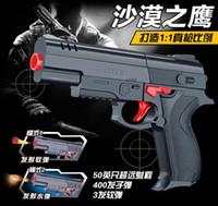 Wholesale high quality Desert Eagle Nerf airsoft gun Airgun Soft Bullet Gun Paintball Pistol Toy CS Game Shooting Water Crystal Gun