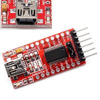 al por mayor adaptador usb ttl-Envío libre FT232RL FTDI USB a TTL Módulo Adaptador Serial para Arduino Mini Puerto 3.3V 5V Envío Gratis
