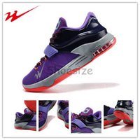 basketball magnet - Drop Shipping Onemix Kevin Durant VII KD ClassicLightning Men s Basketball Sport Shoes Cave Purple Hyper Grape Magnet Grey Turquoise