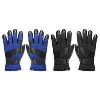 Wholesale Men Winter Warm Cycling Motorcycle Ski Leather Gloves Thermal Mitten Outdoor Driving