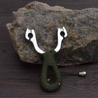 Wholesale Popular Games Outdoor Hunting Slingshot Powerful Slingshot Aluminium Alloy Slingshot Bow Catapult
