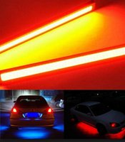 Wholesale China V LED COB Car Auto DRL Driving Daytime Running Lamp Red Set of