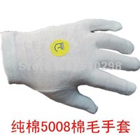 Wholesale golves work gloves cotton interlock white gloves labor ceremonial protective gloves breathable CPA freeshipping