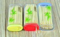 bamboo office accessories - Portable Lighter Style Toothpicks Environmental Bamboo Dentiscalprum Home Office Accessories os189