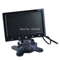 Wholesale 7 Inch Car TFT LCD Stand Headrest Touch Button Monitor Black monitor audio speaker cable monitor bezel