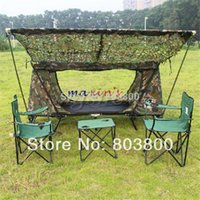 army tent - BIG SIZE x3M Jungle Camo Tent Cover bird observation Sun Shelter Camouflage Net Woodlands Leaves netting Army Combat CS