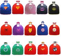 Wholesale One lay Superhero Cape Superman Batman Spiderman Teenage Mutant Ninja Turtle Frozen Flash Supergirl Batgirl Robin cm cm