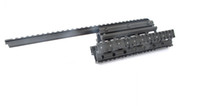 Wholesale OEM UTG Type Saiga Ga Quad Tactical Rail See thru Scope Mount For AK47 With Rubber Covers MNT HGSG12
