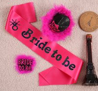 hen party - Wedding Decoration Sexy Bridal To Be Set Fit Bridal Women Bachelorette For Hen Night Bachelorette Party Supplies