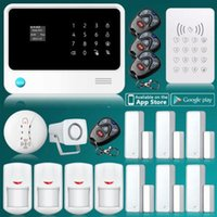 Wholesale 2015 Internet WiFi GSM GPRS Home Security Alarm System Control Kit RFID Keypad