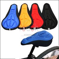 bicycle seat pads - New Cycling Bicycle Bike Silicone Saddle Seat Cover Silica Gel Cushion Soft Pad