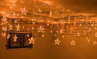 Wholesale LED STRING Strip Festival Holiday Curtain LIGHT for WEDDING Decoration m SMD Stars V V EU US UK AU Plug