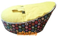 Wholesale baby Bean Bag Yellow Top Rainbow Burst
