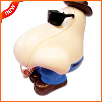amazing telephone - Amazing Big Nose Corded Phone Cute Telephone Table Phone Creative Big Nose Telephone for home office use
