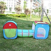 Wholesale 2014 New Funny Children Outdoor Toys Portable Gift For Kid Novetly Tunnel Type Toy Tent for Kids