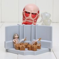 action smile - Good Smile quot cm Attack on Titan Nendoroid Colossus Titan Attack Playset PVC Action Figure Collectible Model Toy