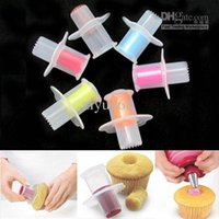 Wholesale Kitchen Cupcake Muffin Cake Corer Plunger Pastry Decorating Cutter Model Tool