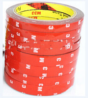 Wholesale mm M Double sided Adhesive for Automobile Interior Thin Waterproof Car tape Acrylic foam double sided m tape