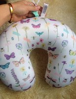 Wholesale I am a beautiful butterfly Trade of the original single authentic travel neck pillow rest nanoparticles U shaped pillow