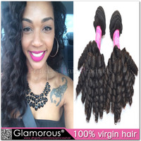 Curly baby hair extensions - Large Stock Remy Baby Curly Hair Extensions Brazilian Virgin Hair Cheap Malaysian Indian Peruvian Brazilian Human Hair Weave Bundles