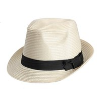 Wholesale Fashion Lady Summer Beach Sun Straw Hat Braid Cap with Bowknot New