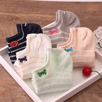 acrylic sock yarn - New Fashion Women Socks Summer Style Loop Yarn Bow Of Japanese Small Fresh Famale Socks Casual Cute Stripe Short Socks