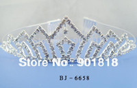 Wholesale mixed tiaras Headband Rhinsetone Tiaras Crystal Bridal Hair Jewellery jewelry