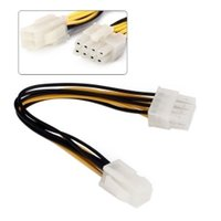 atx power supply lot - 100pcs cm Pin to Pin EPS V ATX Motherboard Power Supply Adapter Converter Cable By Fedex