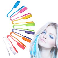 Wholesale 1 Colors for The Hair Fashion Style Hair Color Non toxic Soft Hair Clip Temporary Personalized Beauty Dye Kit