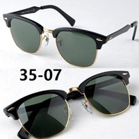 aluminium frame glass - 3507 aluminium magnesium sunglasses N5 black green mm sunglasses for men uniex sun glasses half frame sunglasses