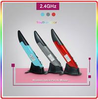Wholesale Mini GHz Wireless Optical Pen Mouse Adjustable DP1 DP1 for PC Android Laptop PPT Presentation Presenter
