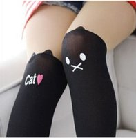 baby bp - Pair New Arrival Style Velvet pantyhose Children Kids Baby Girls Carton Stitching Leggings BP