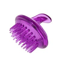 Wholesale Hair Massage Massager Brush Comb Silicone Shampoo Scalp Shower Body styling tools Washing Hair Combs brushes