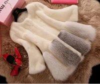 Wholesale 2016 New Winter Long section Leather grass fox fur mink rabbit fur women fur coat