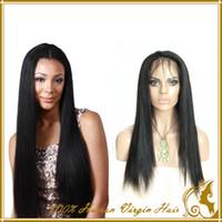 half full - Peruvian human hair glueless wigs Straight Full Lace Wigs Remy Human Hair Brazillian Virgin Hair Human Wigs Lace Front Wigs