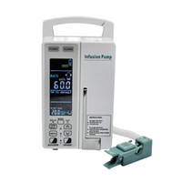 Wholesale Quality Guaranteed LCD Medical KVO Infusion Pump ml h or drop min IV sets warranty CE To US