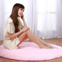 big carpet rugs - CM CM CM CM CM Colors Anti skid Rug Winter Washable Cute Big Round Carpets For Living Room