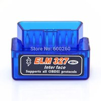 Wholesale Latest Version V1 Super Mini ELM327 Bluetooth OBD2 Scanne For Multi brands CAN BUS Supports order lt no tracking