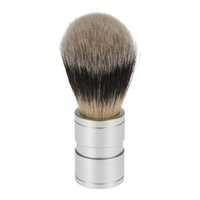 Wholesale New Arrival Professional Beard and Face Cleaning Tool for Male Beauty Tool Metal Aluminium Handle Men Shaving Brush