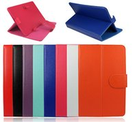 Wholesale 7 inch tablet PC case Universal PU Leather Case Cover With Stand for inch leather stand case colors in stock
