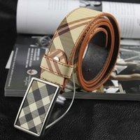 Wholesale 2015 Fashion Men Belt Classical Faux Leather Check Women Belts High Quality Straps Unisex