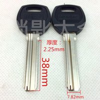 Wholesale SSDQ01314 over yuan shipping new long Experian keys embryo glue the right groove key blanks MM BAODEAN