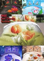 Cheap 3D Bedding Charming Blooming Tulips Best 2015 Bedding Sets