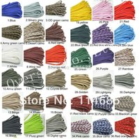 Wholesale 100 colors New climbing rope sale Paracord Parachute Cord Lanyard Rope Mil Spec Type III Strand100FT Climbing Camping